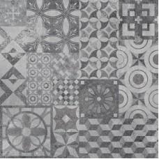 Декоративная плитка Age Art Ceramics Patchwork Grey 60x60 см, толщина 10 мм