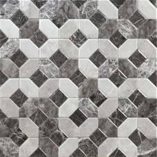 Фоновая плитка Alaplana Caprice Marmol Gris 45x45 см, толщина 9.1 мм
