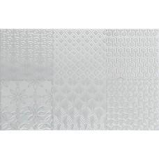 Декоративная плитка Aleluia Aline Decor Bijou Milky Blue 27x42 см, толщина 7.7 мм