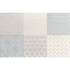 Декоративная плитка Aleluia Aline Decor Mix Bijou Marina 27x42 см, толщина 7.7 мм