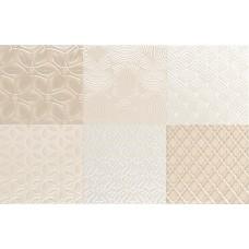 Декоративная плитка Aleluia Aline Decor Mix Bijou Sand 27x42 см, толщина 7.7 мм