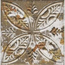 Декоративная плитка Aparici Aged Dark Ornato 20x20 см, толщина 8.5 мм
