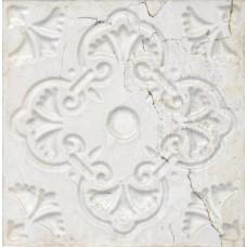 Декоративная плитка Aparici Aged White Ornato 20x20 см, толщина 8.5 мм