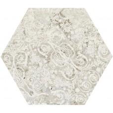 Декоративная плитка Aparici Carpet Sand Hexagon 25x29 см, толщина 10.4 мм