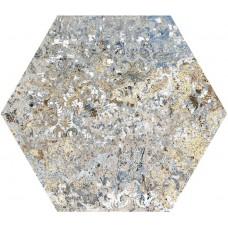 Декоративная плитка Aparici Carpet Vestige Hexagon 25x29 см, толщина 10.4 мм