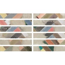 Декоративная плитка Ape District Cinder Party Mix 9.8x59.3 см, толщина 10 мм