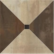 Декоративная плитка Ape Dorian Trapecio Beige Brown 60x60 см, толщина 10.5 мм