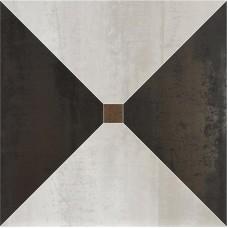 Декоративная плитка Ape Dorian Trapecio White Graphit 60x60 см, толщина 10.5 мм