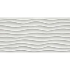 Декоративная плитка Atlas Concorde 3D Wall Dune White Matt 40x80 см, толщина 10 мм