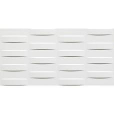 Декоративная плитка Atlas Concorde 3D Wall Grid White Glossy 40x80 см, толщина 10 мм