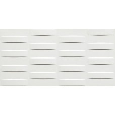 Декоративная плитка Atlas Concorde 3D Wall Grid White Matt 40x80 см, толщина 10 мм