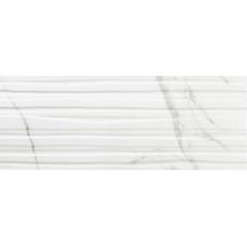 Декоративная плитка Azulev Calacatta Branches White 25x65 см