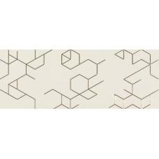 Декоративная плитка Azulev Clarity Decor Polygon Marfil 25x65 см