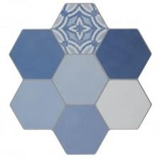 Фоновая плитка Azuliber Cursa Azul 40x40 см