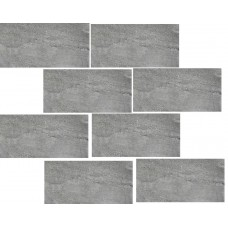 мозаика Casa Dolce Casa Stones And More Burl Gray Mur. Glossy 30x30 см, толщина 6 мм