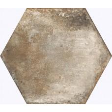 Фоновая плитка Casabella Insieme Esagona Tortora 34x40 см, толщина 10 мм