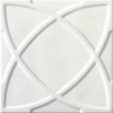 Декоративная плитка Ceramiche Grazia Vintage Circle White 20x20 см