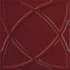Декоративная плитка Ceramiche Grazia Vintage Circle Wine 20x20 см