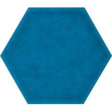 Фоновая плитка Cerasarda Sardinia Azzuro Mare Esagona 25.4x29.4 см, толщина 10.5 мм