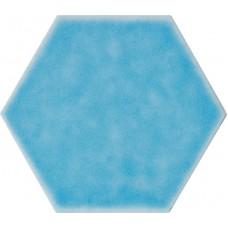 Фоновая плитка Cerasarda Sardinia Turchese Esagona 25.4x29.4 см, толщина 10.5 мм