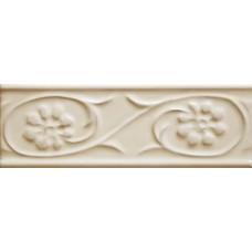 Декоративная плитка Cevica Paris Petalos Crema 5x15 см, толщина 8.5 мм