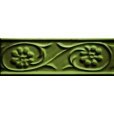 Декоративная плитка Cevica Paris Petalos Verde Vic 5x15 см, толщина 8.5 мм