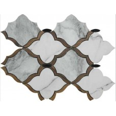 Фоновая плитка Colli Scot Scot White Decoro Bolero 33x45 см