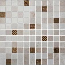 мозаика Colorker Millenium Mosaico Gold Mix 30x30 см, толщина 10.5 мм