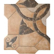 Декоративная плитка Emigres Puzzlemi Huesca Beige 41.8x41.8 см