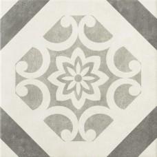 Декоративная плитка Epoca Art Deco Decor Grey 32.5x32.5 см
