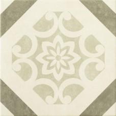 Декоративная плитка Epoca Art Deco Decor Taupe 32.5x32.5 см