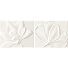 Декоративная плитка Epoca Le Vernis Form Fleurs A B Pergamon 20x25.1 см