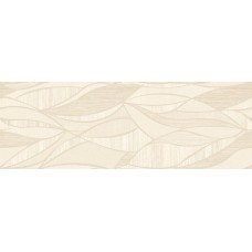 Декоративная плитка Fanal Lino Decor Crema Hojas 31.6x90 см