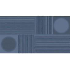 Декоративная плитка Fanal Nantes Cobalto Relieve 32.5x60 см