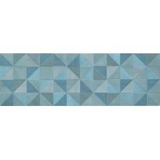 Декоративная плитка Fap Color Now Tangram Avio Inserto 30.5x91.5 см, толщина 8.5 мм