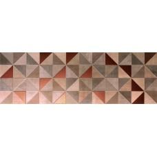 Декоративная плитка Fap Color Now Tangram Rame Inserto 30.5x91.5 см, толщина 8.5 мм