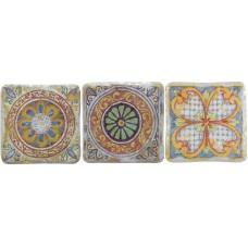 Декоративная плитка Gambarelli Le Maioliche Decori A B C 15x15 см