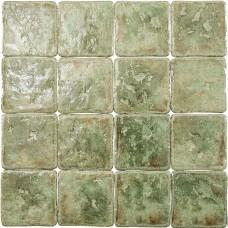 Фоновая плитка Gambarelli Le Maioliche Verde 15x15 см