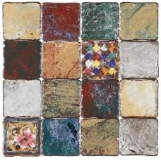 Декоративная плитка Gambarelli Rainbow Decor Mix K1 15x15 см