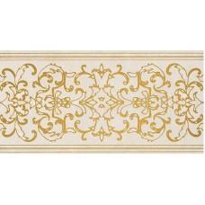 Декоративная плитка Gardenia Orchidea Canova Fascia Pavimento Bianco 25x50 см, толщина 9 мм