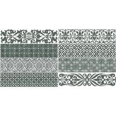 Декоративная плитка Gayafores Bricktrend Deco White 8.15x33.15 см