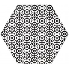 Декоративная плитка Goldencer Chess Decor Mirage Mate 32x37 см