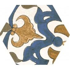 Декоративная плитка Goldencer Sandstone Decor Delf Colours 32x37 см