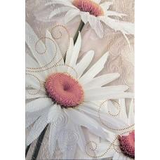 Декоративная плитка Halcon Iris Decor Silver 31x45 см