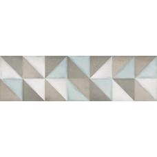 Декоративная плитка Ibero Intuition Dec Flair Aquamarine 29x100 см
