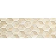 Декоративная плитка Impronta Beige Experience Cube Crema Velluto 32x96.2 см, толщина 10 мм