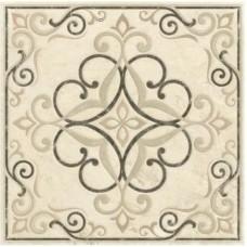 Декоративная плитка Impronta Beige Experience Rosone Crema Liv. Sq. Lap. 60x60 см, толщина 10 мм