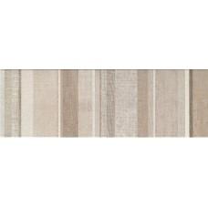 Декоративная плитка Impronta Couture Amande Raye 25x75 см, толщина 10.5 мм