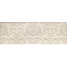 Декоративная плитка Impronta Couture Ivoire Arabesque 25x75 см, толщина 10.5 мм