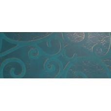 Декоративная плитка Impronta Creta D Aqua Boucle Oro Decoro 30.5x72.5 см, толщина 11 мм
